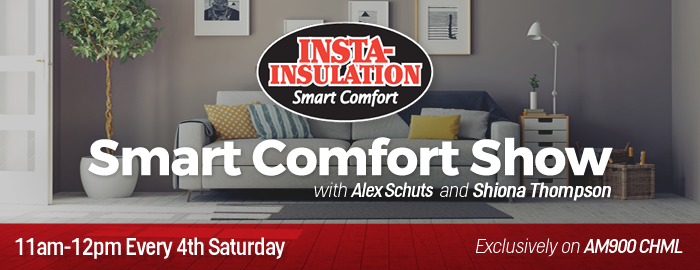 Smart Comfort Show on 900 CHML