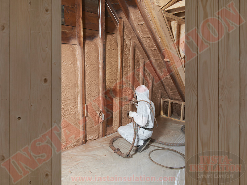 Installing Spray Foam in the Niagara Penninsula