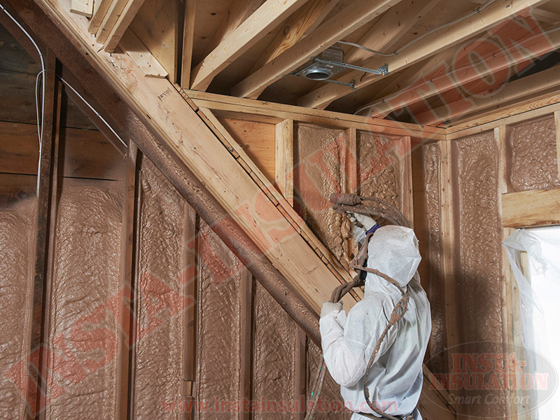 Installing Spray Foam North of the GTA